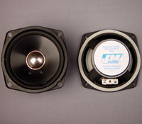 J&M Rear Speaker Kit with Wiring Harness