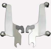 Memphis Shades Fats/Slims Polished Trigger-Lock Mount Kit