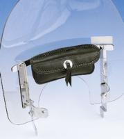 Show Chrome Accessories Signature Single Windshield Pouch
