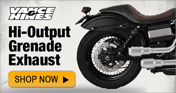 Vance and Hines Hi-Output Grenade Exhaust