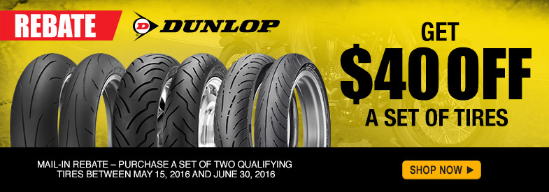 Click here to view the Dunlop tire rebate