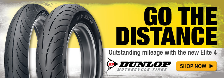 Shop Dunlop Elite 4 Tires for Indian