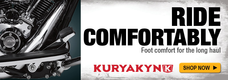 Shop Kuryakyn Gloss Black Extended Brake Pedal