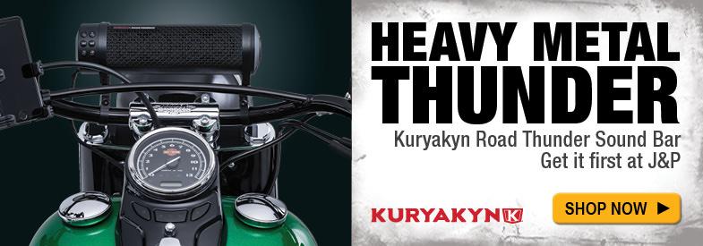 Shop Kuryakyn Road Thunder Black Sound Bar by MTX