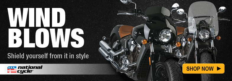 Shop National Cycle Windshields