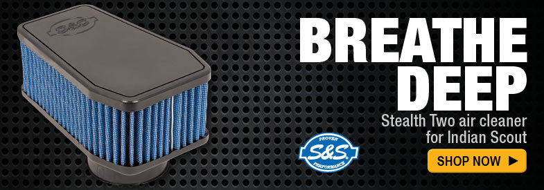 Shop S&S Stealth Two Air Cleaner