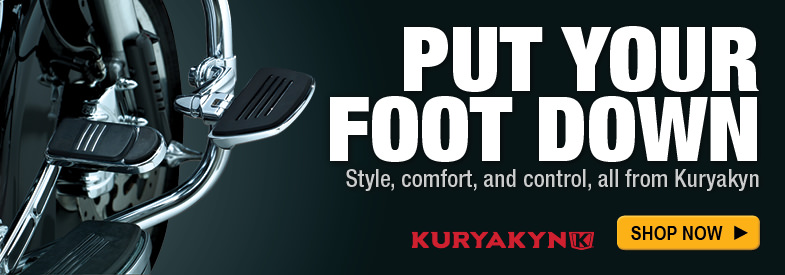 Shop Kuryakyn Foot Controls