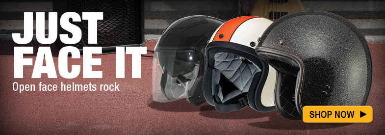 Shop Open Face Helmets