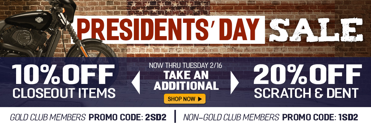 Shop the Presidents Day Sale to Save on Closeouts and Scratch and Dent