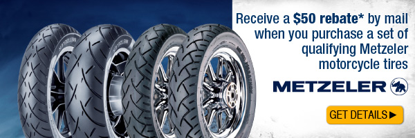 Click to view the Metzeler Tire Rebate