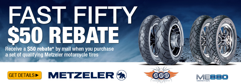 Metzeler Tire Rebate