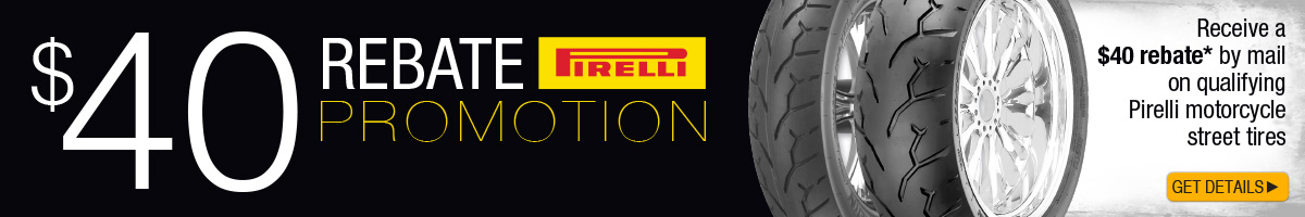 Click here to view the Pirelli Tire Rebate