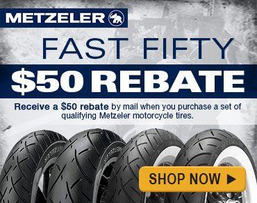Click to view Metzeler tire rebate