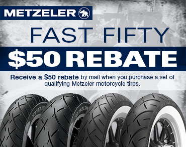 Click to view Metzeler tire rebate