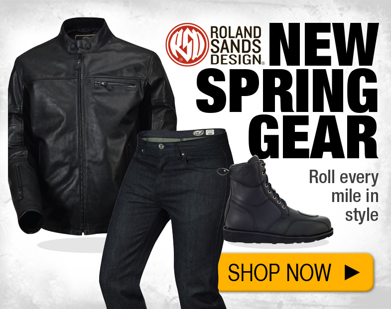 Shop new Gear from Roland Sands Designs