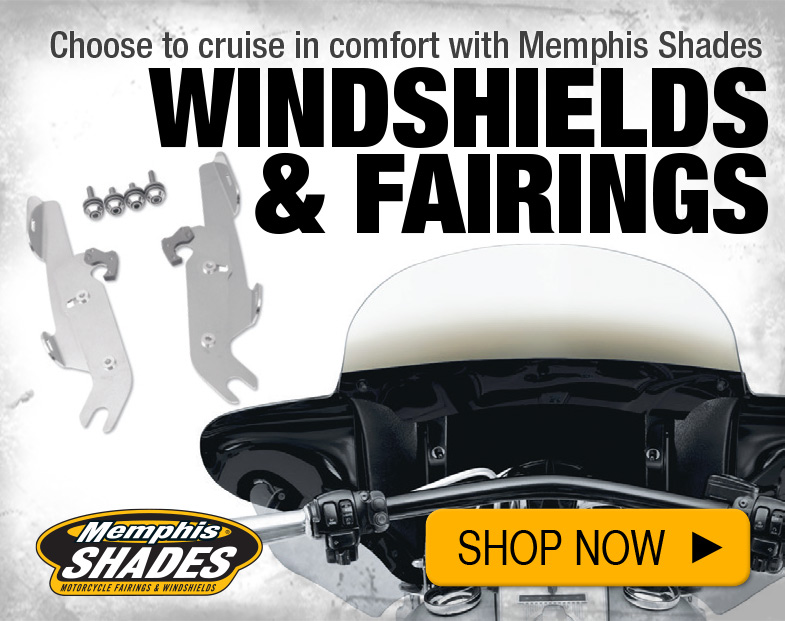 Shop Windshields and Fairings by Memphis Shades