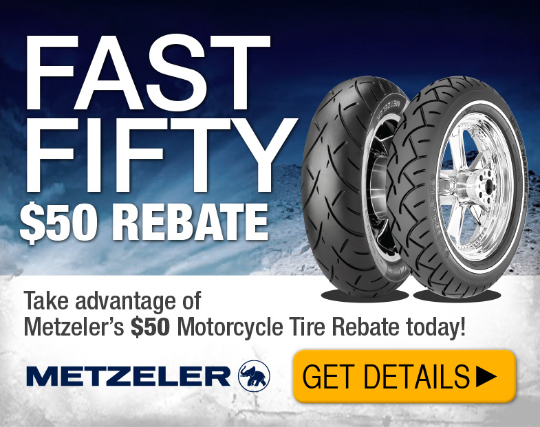Click here for the Metzeler tire rebate