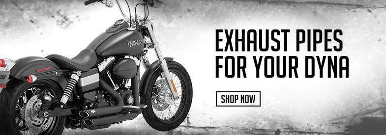 Shop Harley-Davidson Dyna Exhaust!