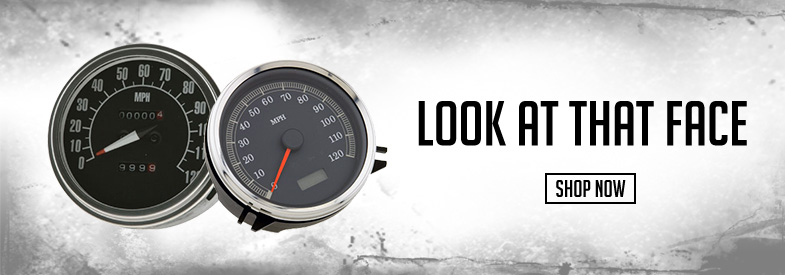 Shop J&P Cycles Dash & Speedometers