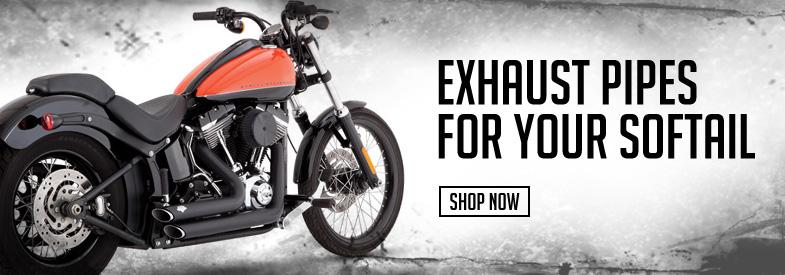 Shop Harley-Davidson Softail Exhaust!