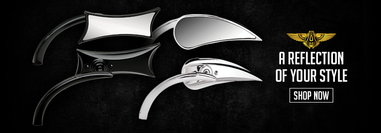 Shop Arlen Ness Motorcycle Mirrors