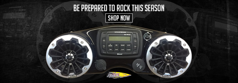 Shop Reckless Motorcycle Audio & Electronics