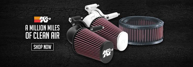 Shop K&N Motorcycle Air Intake & Fuel Systems