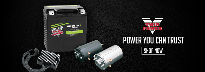 Shop Twin Power Motorcycle Electrical & Batteries