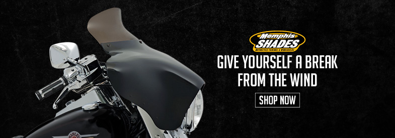 Shop Memphis Shades Motorcycle Windshields & Fairings