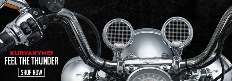 Shop Kuryakyn by MTX Motorcycle Audio & Electronics