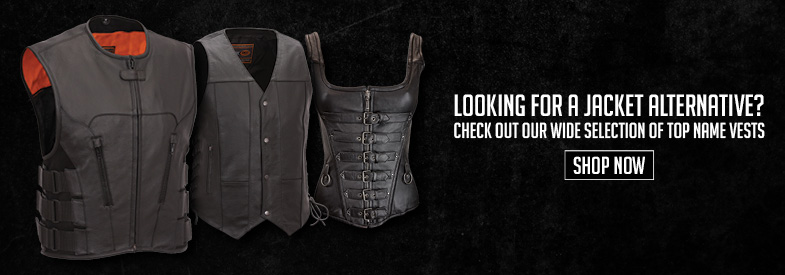 Shop Motorcycle Vest!