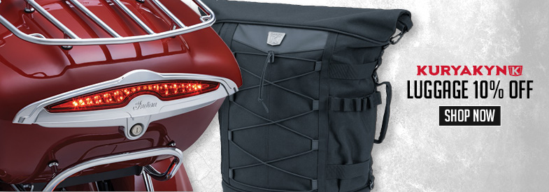 Shop Kuryakyn Motorcycle Luggage
