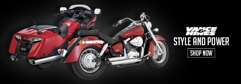 Shop Vance & Hines Honda Cruiser Exhaust
