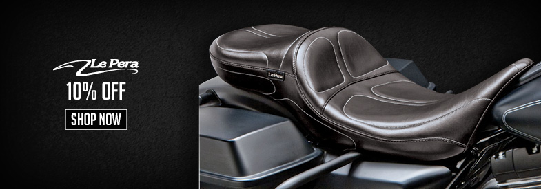 Shop Le Pera Motorcycle Seats & Backrests