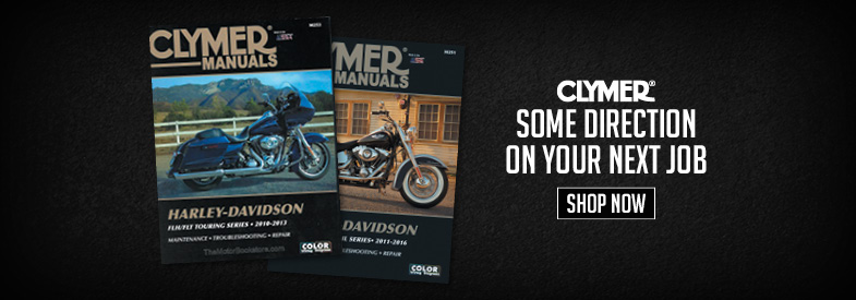 Shop New Motorcycle Repair Manuals