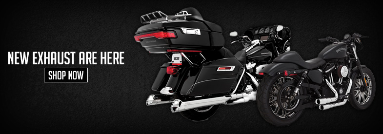 Shop New Harley-Davidson Exhaust
