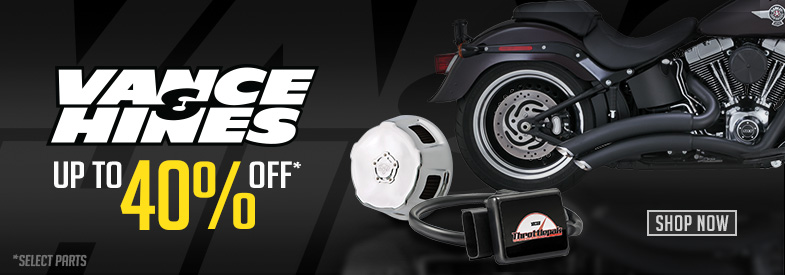 Vance and Hines Parts Sale