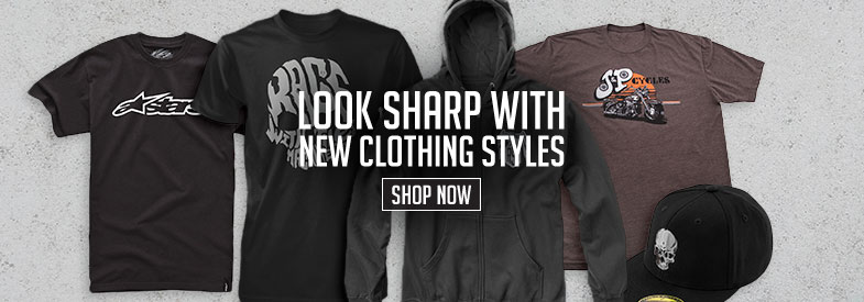 Shop New Motorcycle Clothing