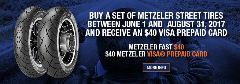 Metzeler Tire Rebate. Shop Now!