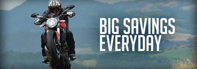 Sportbike Motorcycle Parts & Accessories on Sale
