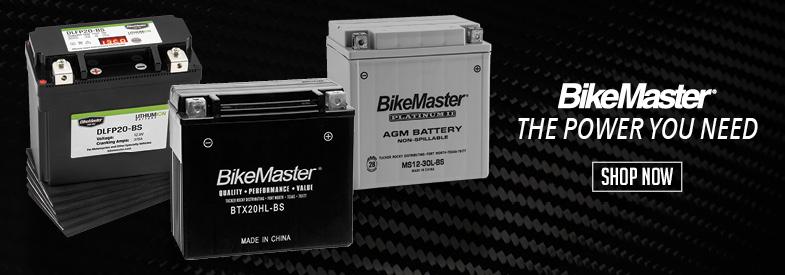 Shop BikeMaster Sportbike Electrical & Batteries!