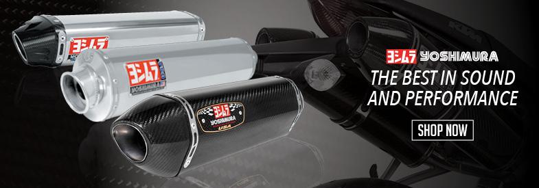 Shop Yoshimura Sportbike Exhaust!