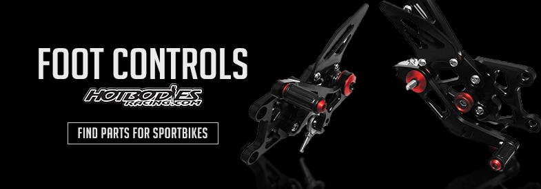 Shop Hot Bodies Sportbike Foot Controls!