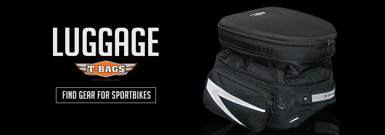 Shop T-Bags Sportbike Luggage!