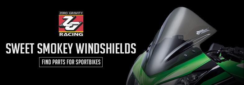 Shop Zero Gravity Sportbike Windshields & Fairings !