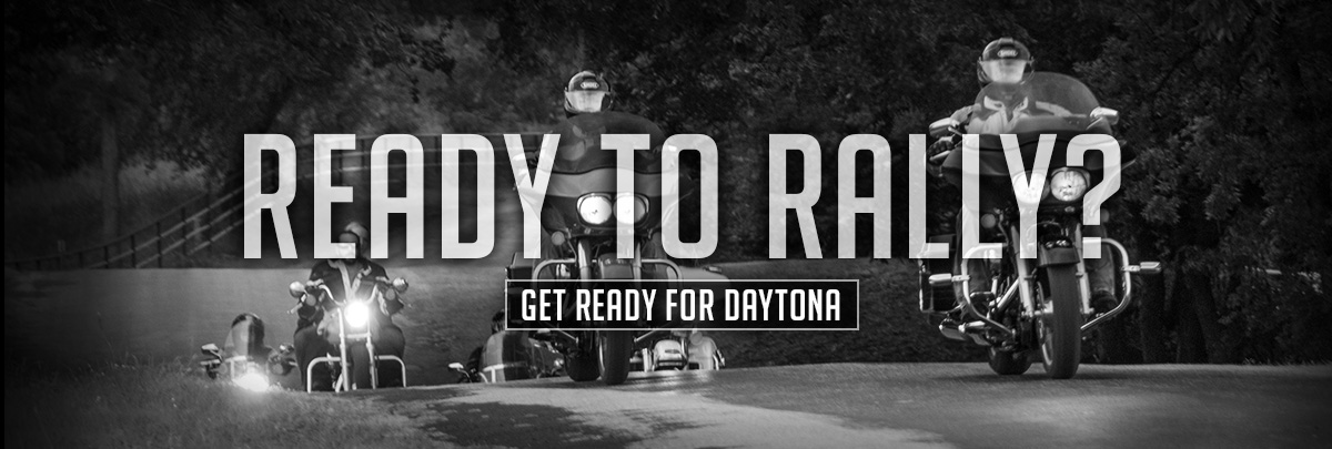 Get Ready for Daytona. Shop Now.