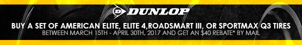 Dunlop Rebates. Shop Now.