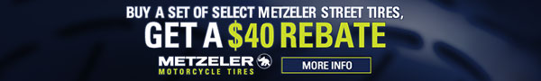 Metzeler Rebates. Shop Now.