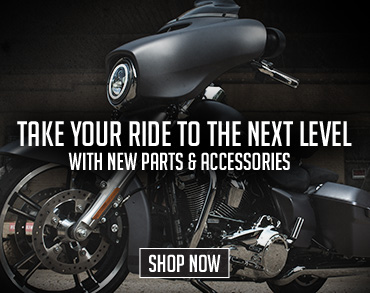 New Parts and Accessories. Shop Now.