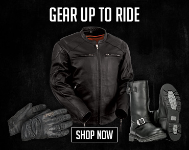 Gear Up to Ride Shop Now.